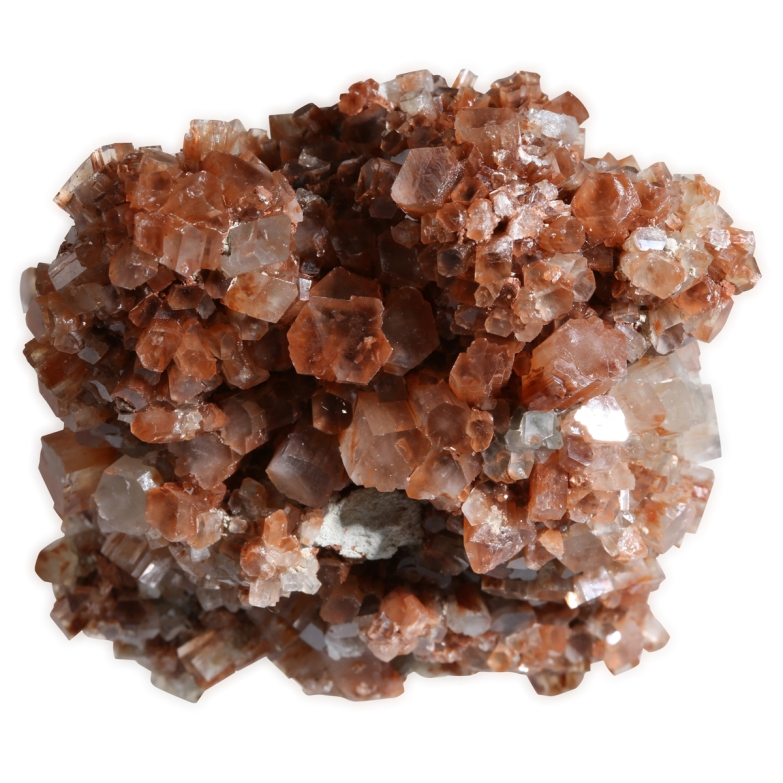 Aragonite crystallized photographed by Serge Briez for Imagin'all (http://www.cristaux-sante.com)