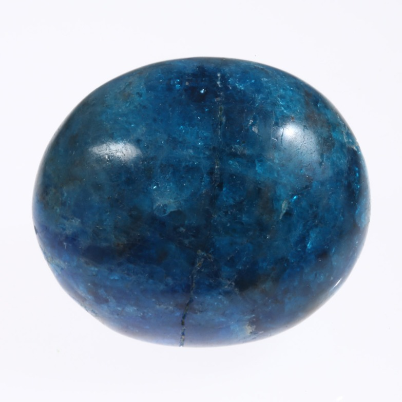 Blue Apatite photographed by Serge Briez for Imagin'all (http://www.cristaux-sante.com)
