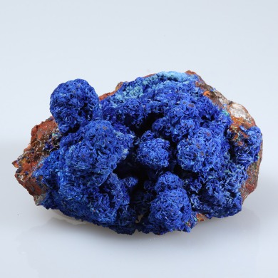 Azurite photographed by Serge Briez for Imagin'all (http://www.cristaux-sante.com)