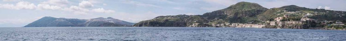 Lipari's island , view of the boat Thera Explorer photographed by Serge Briez ©2014 Cap médiations, Thera Explorer