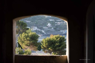 View from the openings of the fortress of Lipari photographed by Serge Briez ©2014 Cap médiations, Thera Explorer