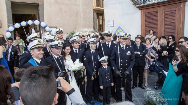 Marriage at Lipari port, Aeolian island photographed by Serge Briez ©2014 Cap médiations, Thera Explorer