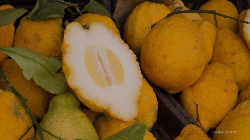 Citron of Ortigia Market, Syracuse photographed by Serge Briez ©2014 Cap médiations, Thera Explorer