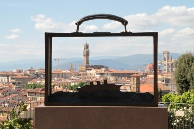 Sculpture PJ Foulon, Florence, Italy ©Serge Briez, Cap médiations