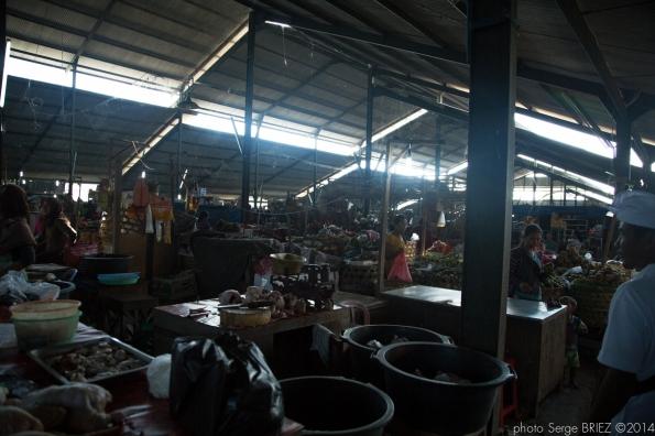 Bali's market photographed by Serge Briez