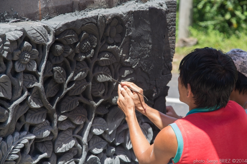 Bali handicraft photographed by Serge Briez