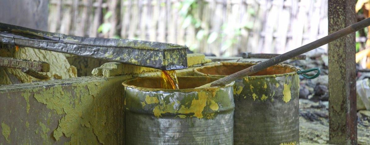 Sulfur Boiler in Java photographed by Serge Briez, ©Serge Briez, Cap médiations