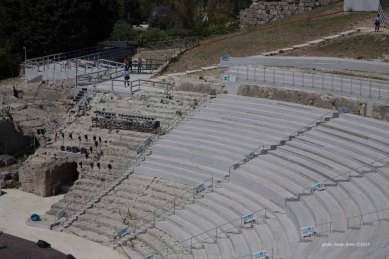 Teatro greco Syracuse photographed by Serge Briez ©2014 Cap médiations, Thera Explorer