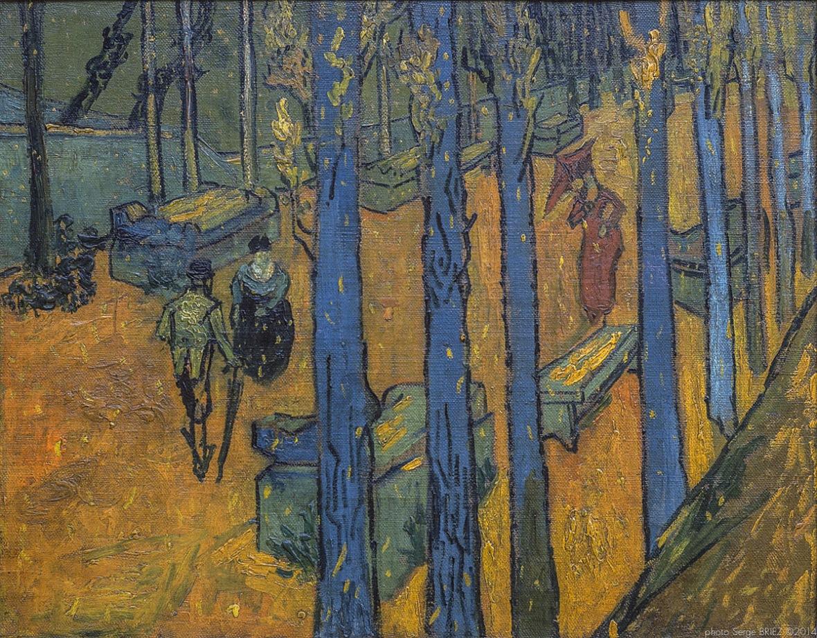Alyscampts, Van gogh's painting photographed by Serge Briez, ©2014 Serge Briez, Cap médiations