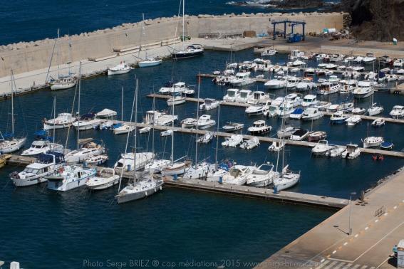 Port de plaisance de Portbou- photo Serge Briez®capmediations.2015 reproduction iinterdite