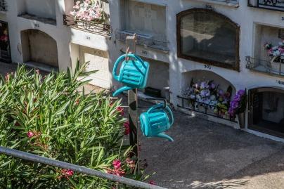 Cimetière communal de Portbou - photo Serge Briez ®capmediations.2015 reproduction iinterdite